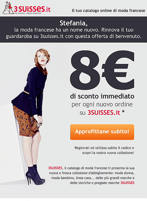 3Suisses Email Design