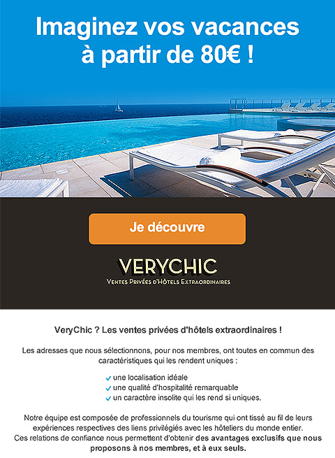 VeryChic Email Design