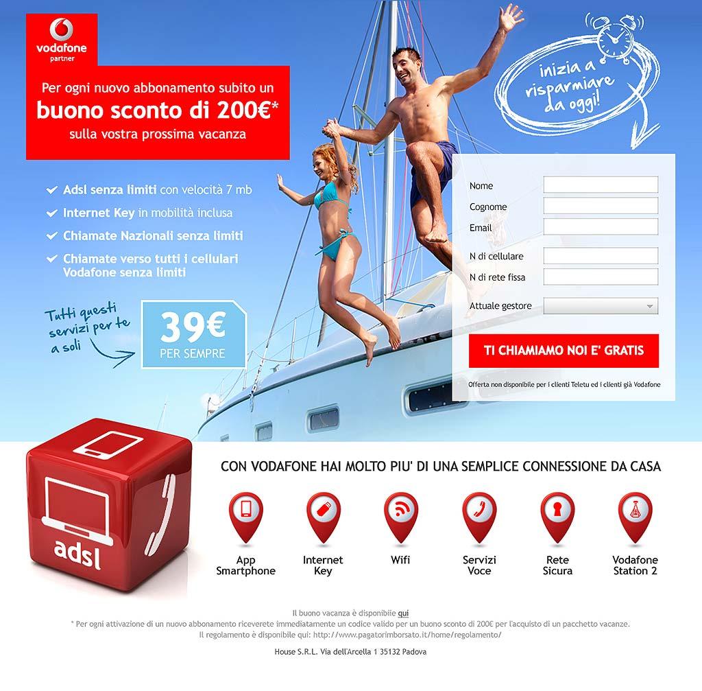Vodafone Landing Page 2
