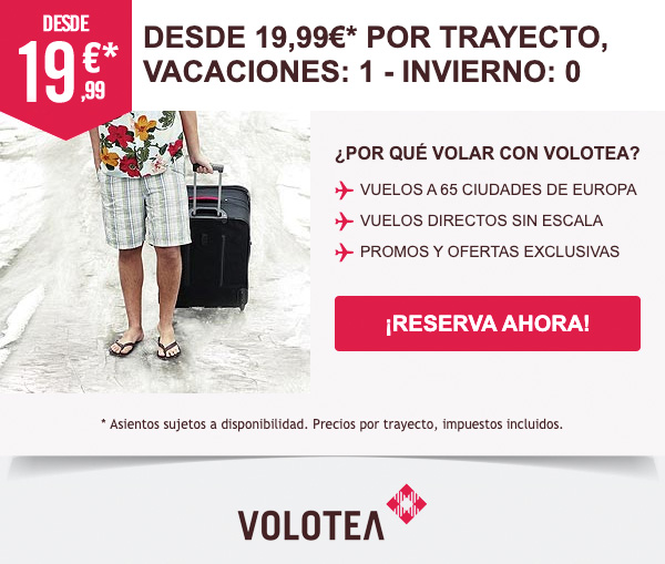 Volotea Winter Email