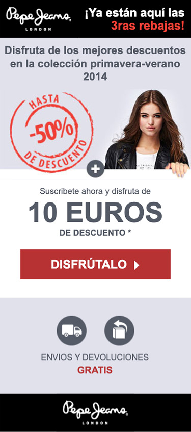 Pepe Jeans Email Mobile version Women