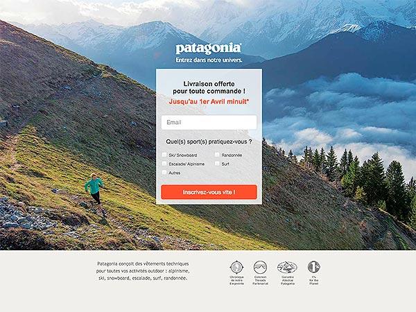 Patagonia trekking LP