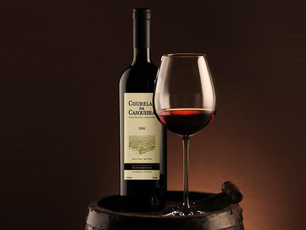 Courelas da Casqueira wine label