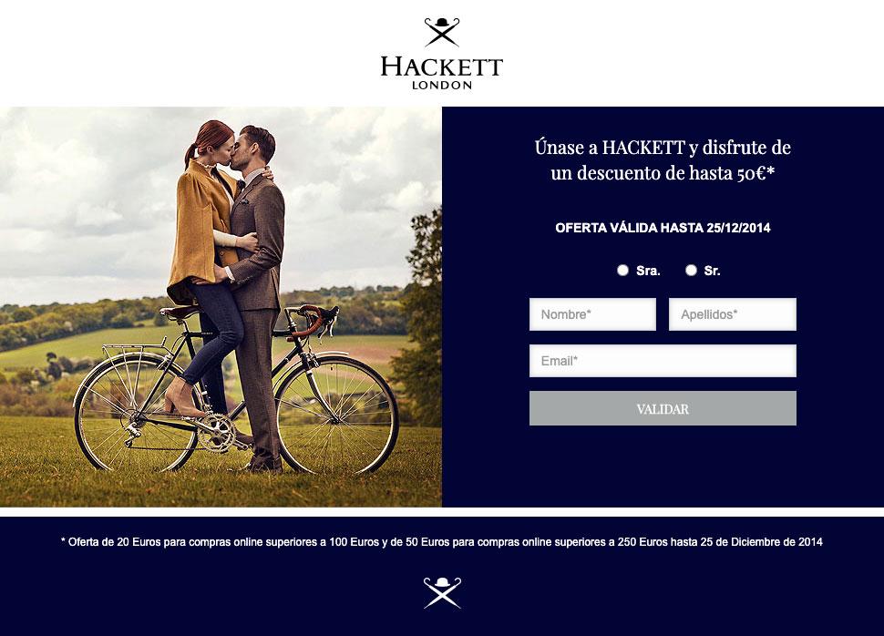 Hackett London LP Desktop version