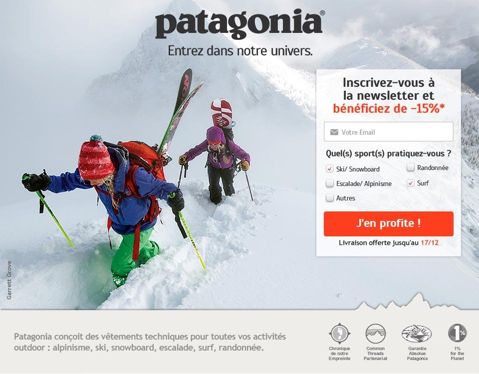 Patagonia LP Desktop version
