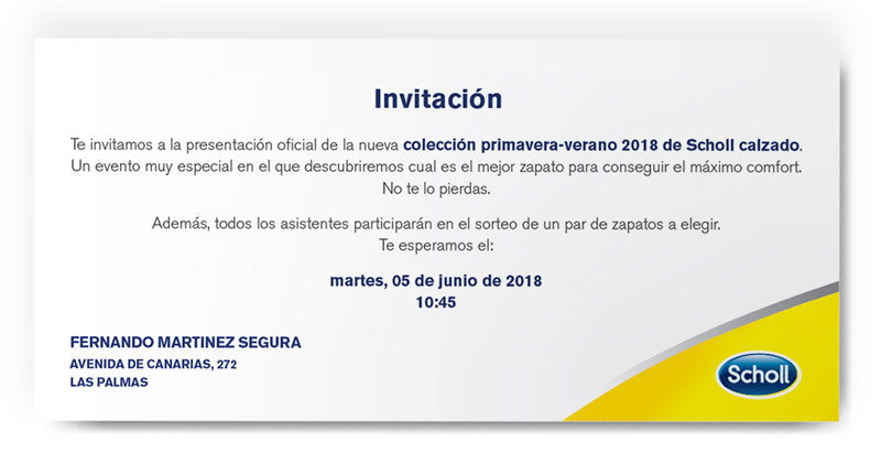 Invitation Scholl
