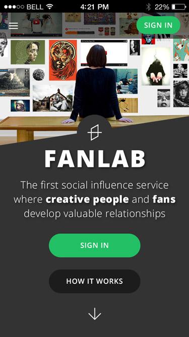 FanLab Social Platform