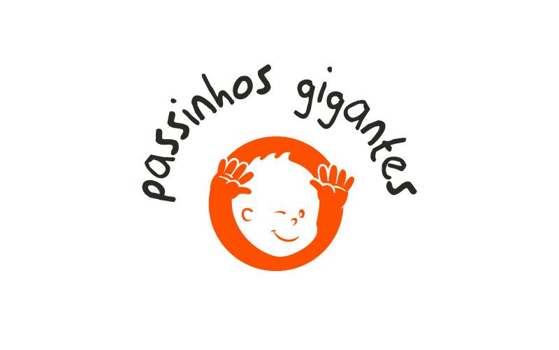 Logo Passinhos Gigantes